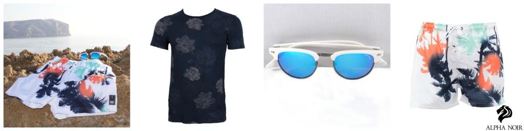 alpha noir outfit de verano moda masculina