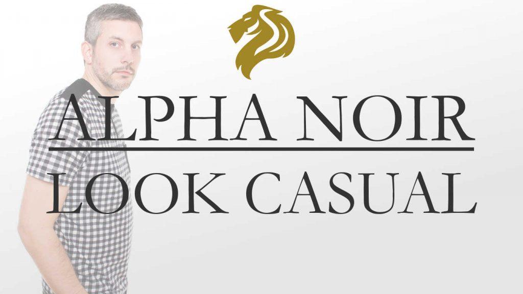 alpha noir moda hombre casual