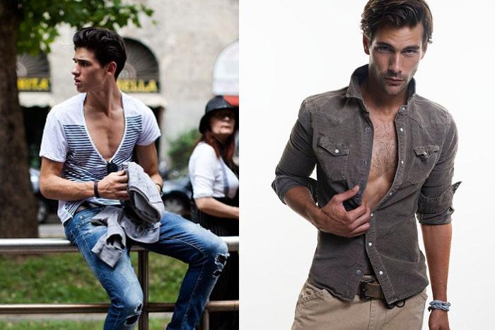 los 12 errores imperdonables de un hombre a la hora de vestir escotes