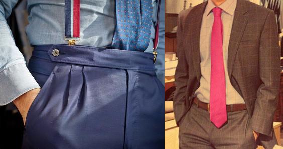 los 12 errores imperdonables de un hombre a la hora de vestir corbatas por dentro