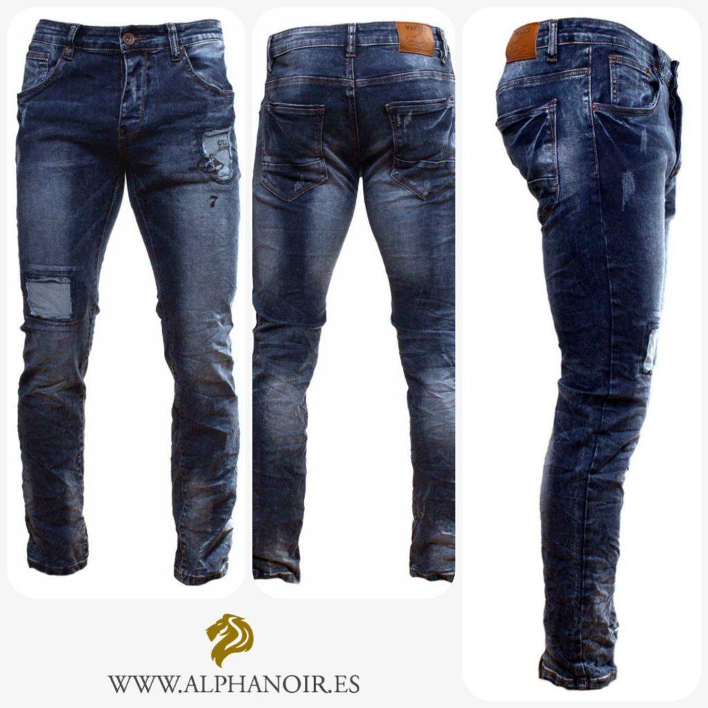 Jeans desgastados tendencias de verano 2017