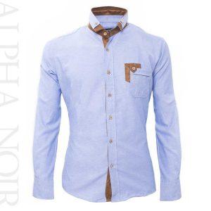camisa informal de manga larga