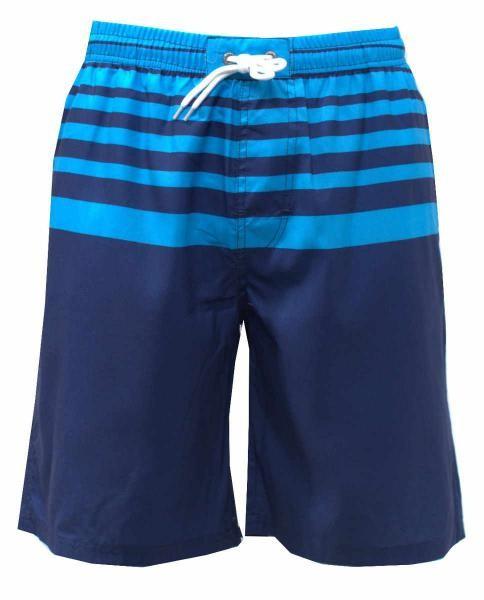bañador boxer azul de hombre
