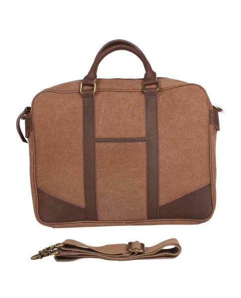 bolso de trabajo color camel