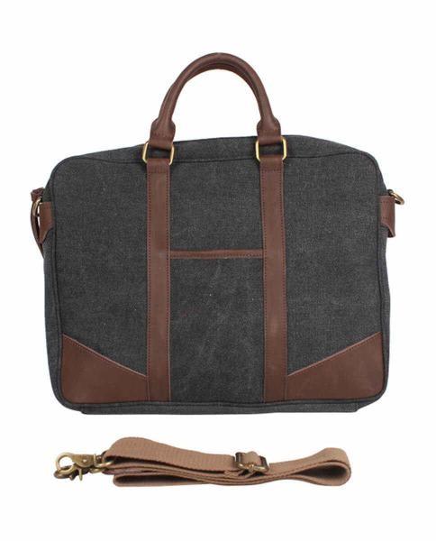 bolso de trabajo gris oscuro
