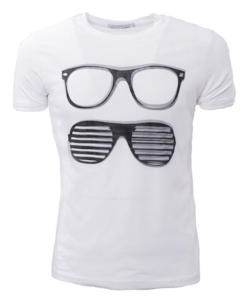 camiseta basica casual hipster