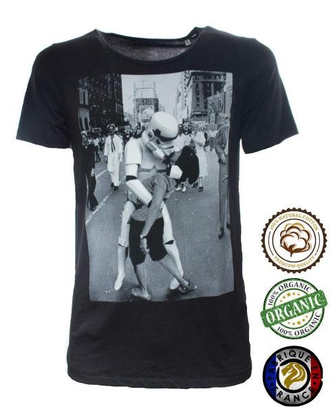 camiseta star wars estampada marine kiss