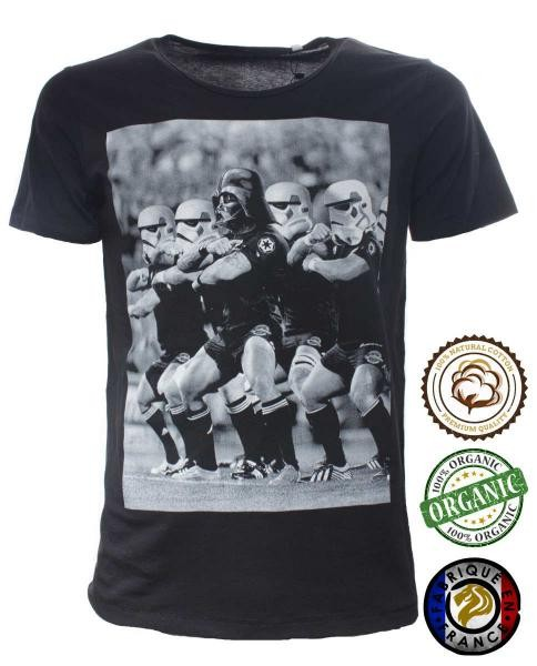camiseta star wars estampado rugby