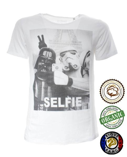 camiseta star wars paris selfie