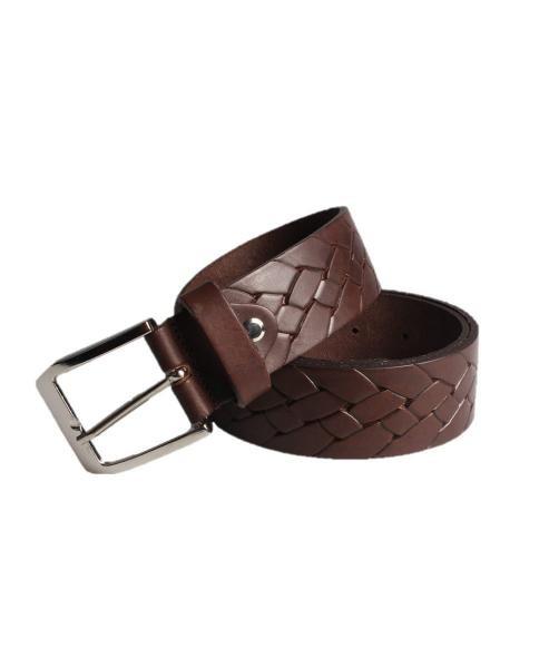 cinturon trenzado de hombre