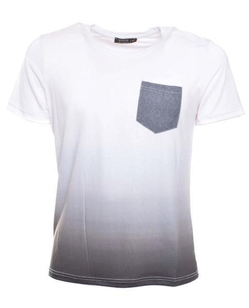 comprar camiseta basica blanca de hombre