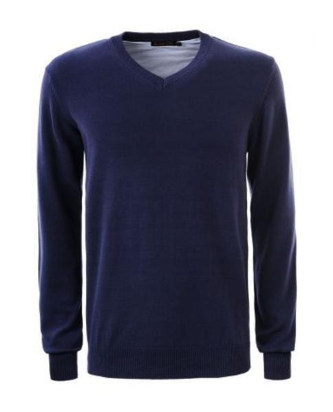 jersey de hombre azul marino