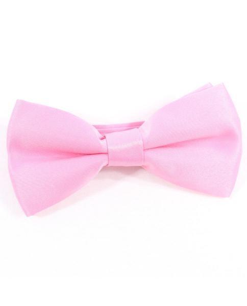 pajarita rosa claro