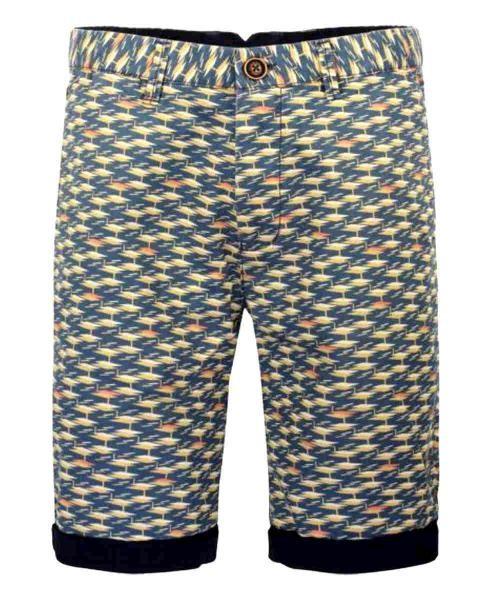 pantalon corto vintage amarillo