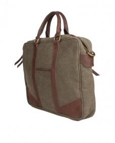 bolso de trabajo color kaki