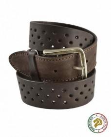 cinturon informal marron para hombre
