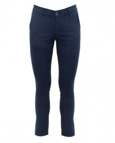 pantalones chinos de hombre azul marino