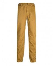 pantalones pitillo de vestir beige
