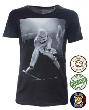 Camiseta Negra Star Wars Guitar Hero