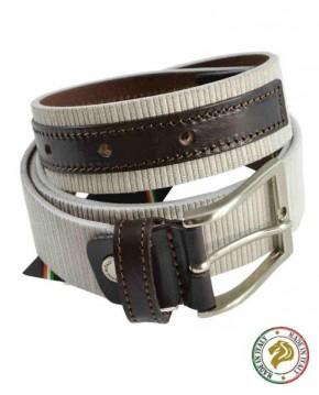 Cinturón Blanco Italiano de Hombre