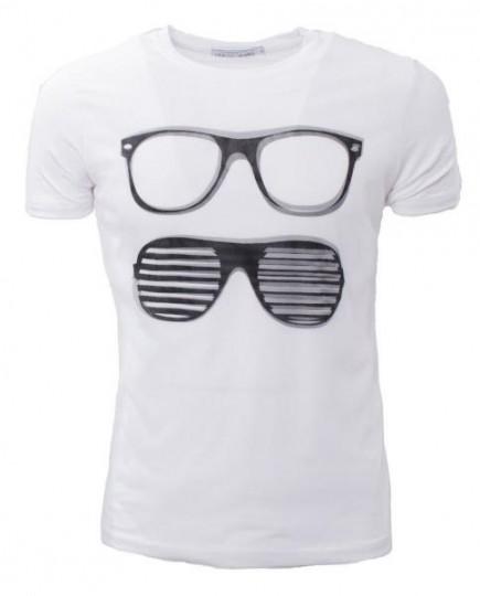 Camiseta Básica Casual Hipster