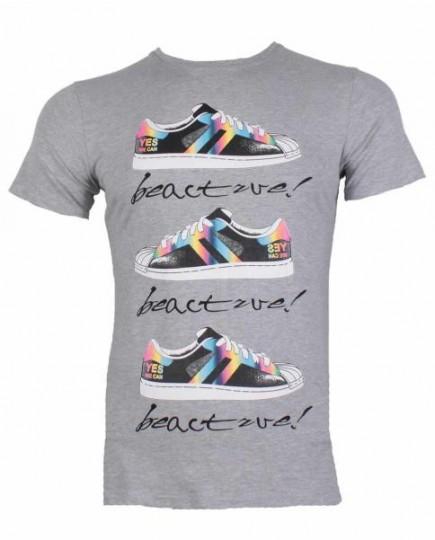 Camiseta Basica Casual Print