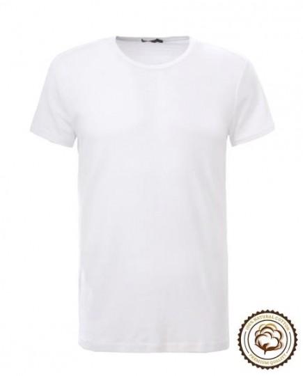 Camiseta Blanca de Manga Corta