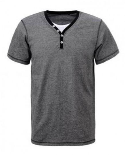 Camiseta de Algodón Cuello Doble