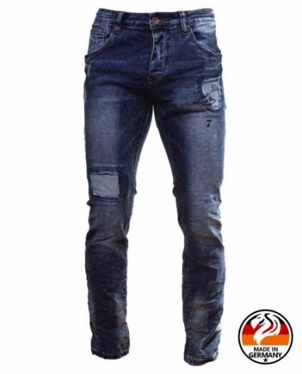 Denim Jeans Desgastados