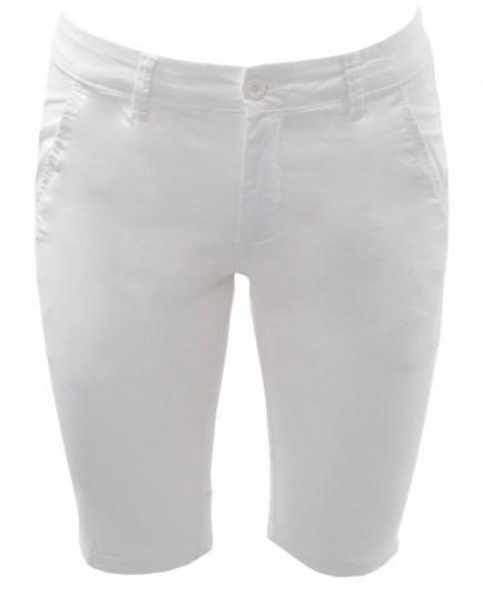 Pantalón Corto Blanco de Algodón