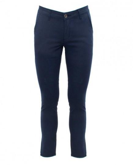 Pantalones Chinos Azul Marino