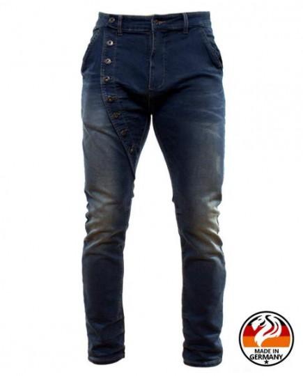 Slim Fit Jeans Asimétrico